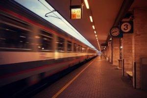 train, Blurred