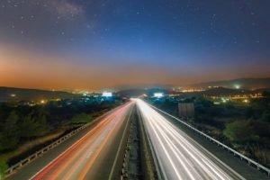 long exposure, Road