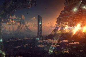 futuristic, Technology, World, Science fiction
