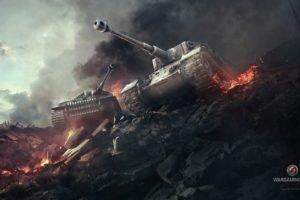 Tiger I, World of Tanks, Wargaming, Tank, Tiger P