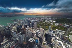 cityscape, Building, Sea, Auckland