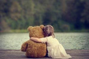 children, Little girl, Teddy bears