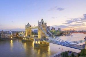 bridge, London, Tower Bridge