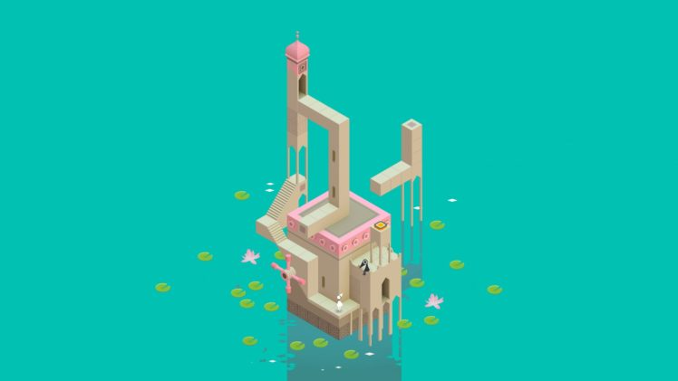 Monument Valley Game Video Games Hd Wallpapers Desktop And