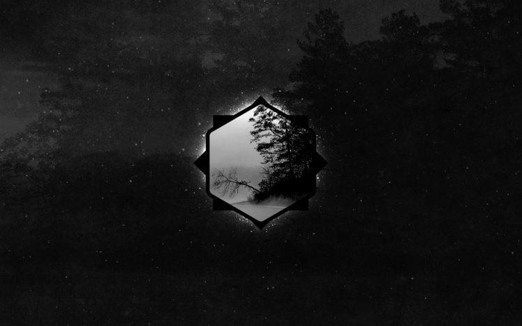 geometry, Dark, Forest HD Wallpaper Desktop Background
