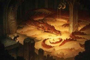 Bilbo Baggins, Smaug, The Hobbit, The Hobbit: The Desolation of Smaug, Gold
