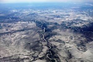 Siberia, Russia, River