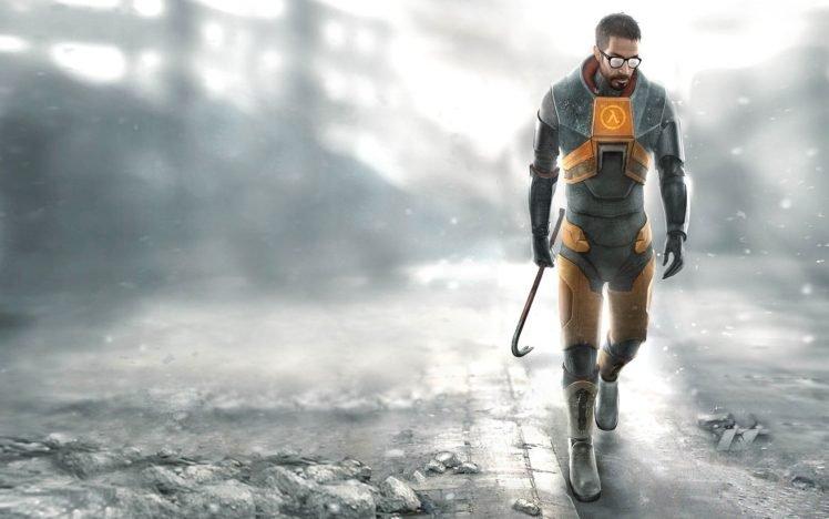 Gordon Freeman, Video games, Half Life HD Wallpaper Desktop Background