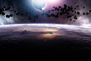 video games, Stars, Space art
