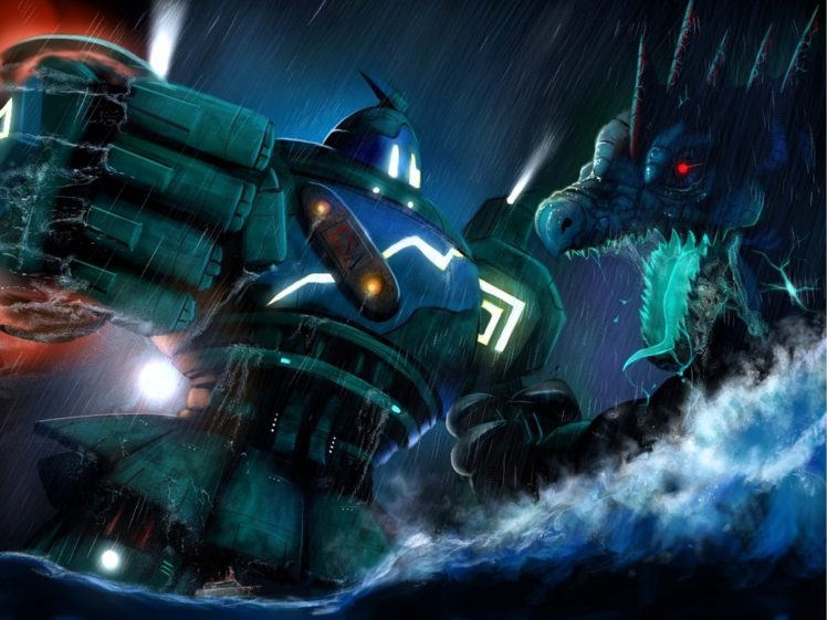 Pokemon Pacific Rim Kaiju HD Wallpaper Desktop Background