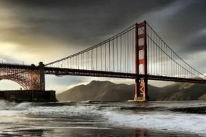 Golden Gate Bridge, San Francisco, California, Multiple display