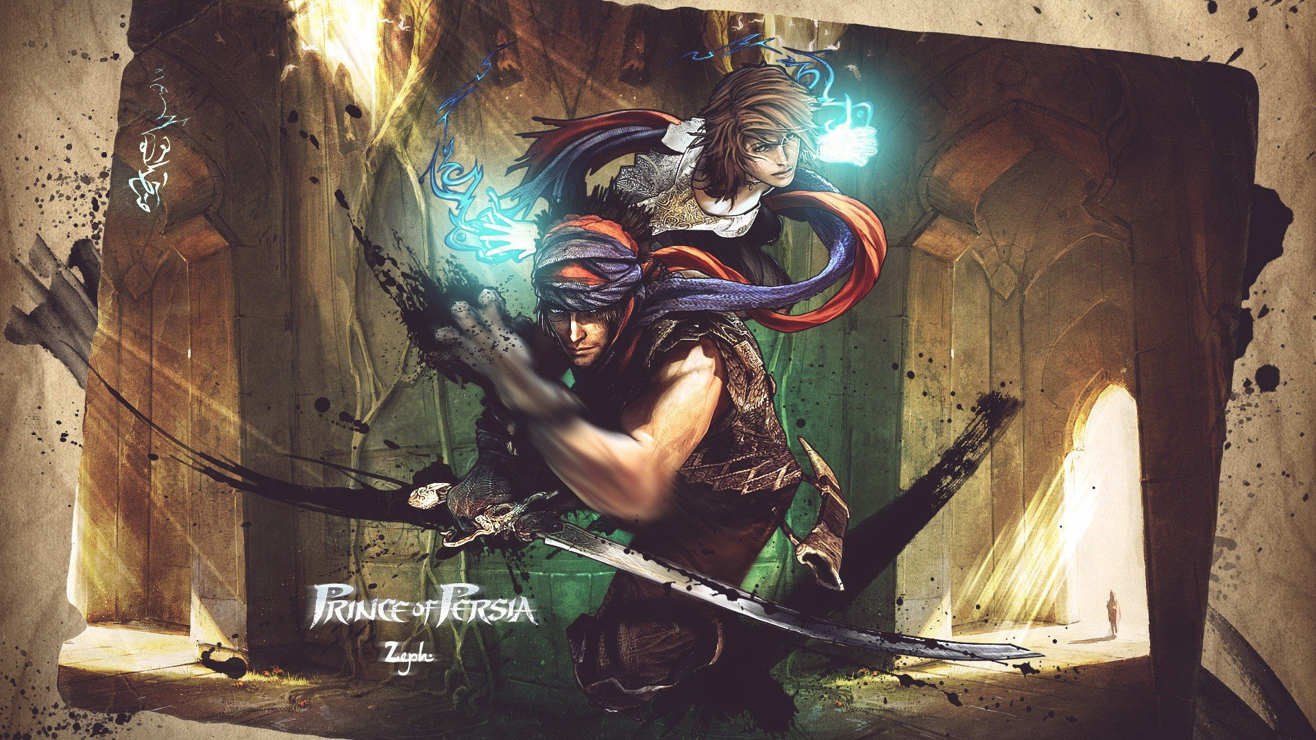 Video Games Prince Of Persia 2008 Hd Wallpapers Desktop And
