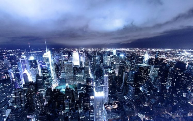 Lights Cityscape Night City Hd Wallpapers Desktop And Mobile Images Photos