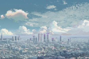 cityscape, 5 Centimeters Per Second