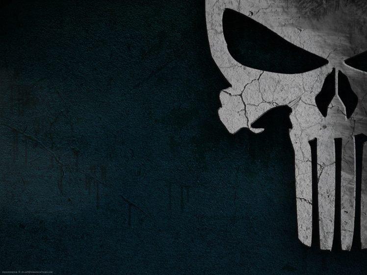 The Punisher Skull Bones HD Wallpaper Desktop Background
