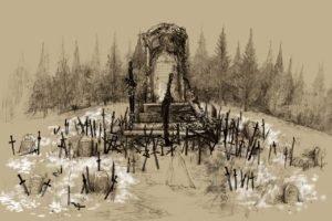 Dark Souls, Sword, Graveyards, Tombstones