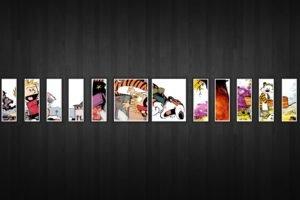 Calvin and Hobbes, Comic art
