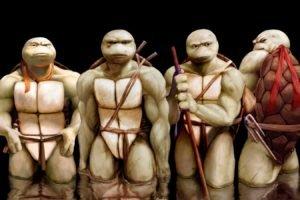 Teenage Mutant Ninja Turtles, Realistic, Drawing