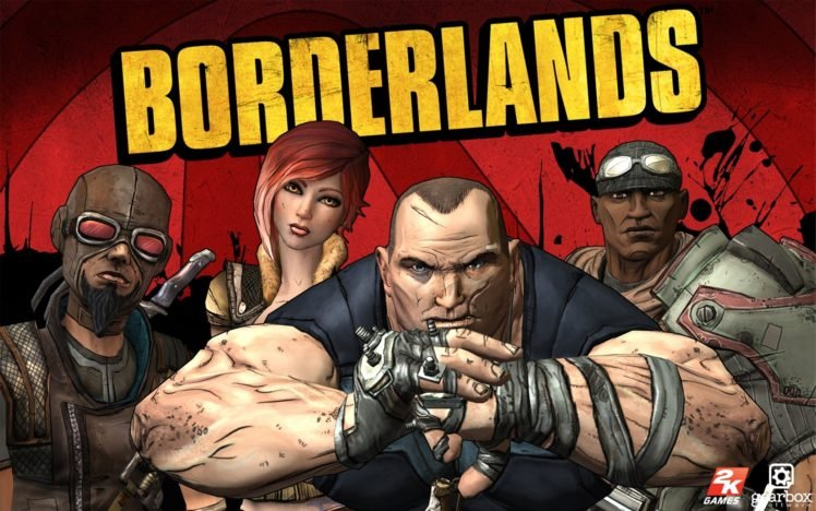 Borderlands, Video Games, PlayStation 3, Xbox 360 HD