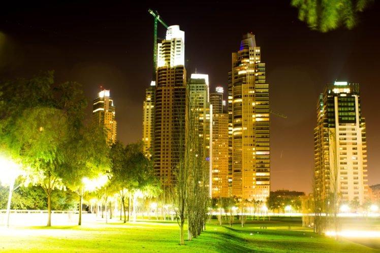night, City, Lights HD Wallpaper Desktop Background