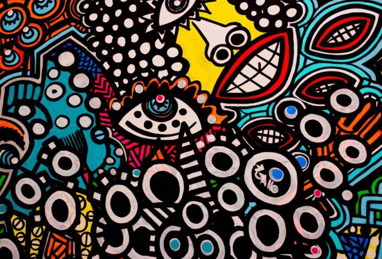 colorful, Street art HD Wallpaper Desktop Background