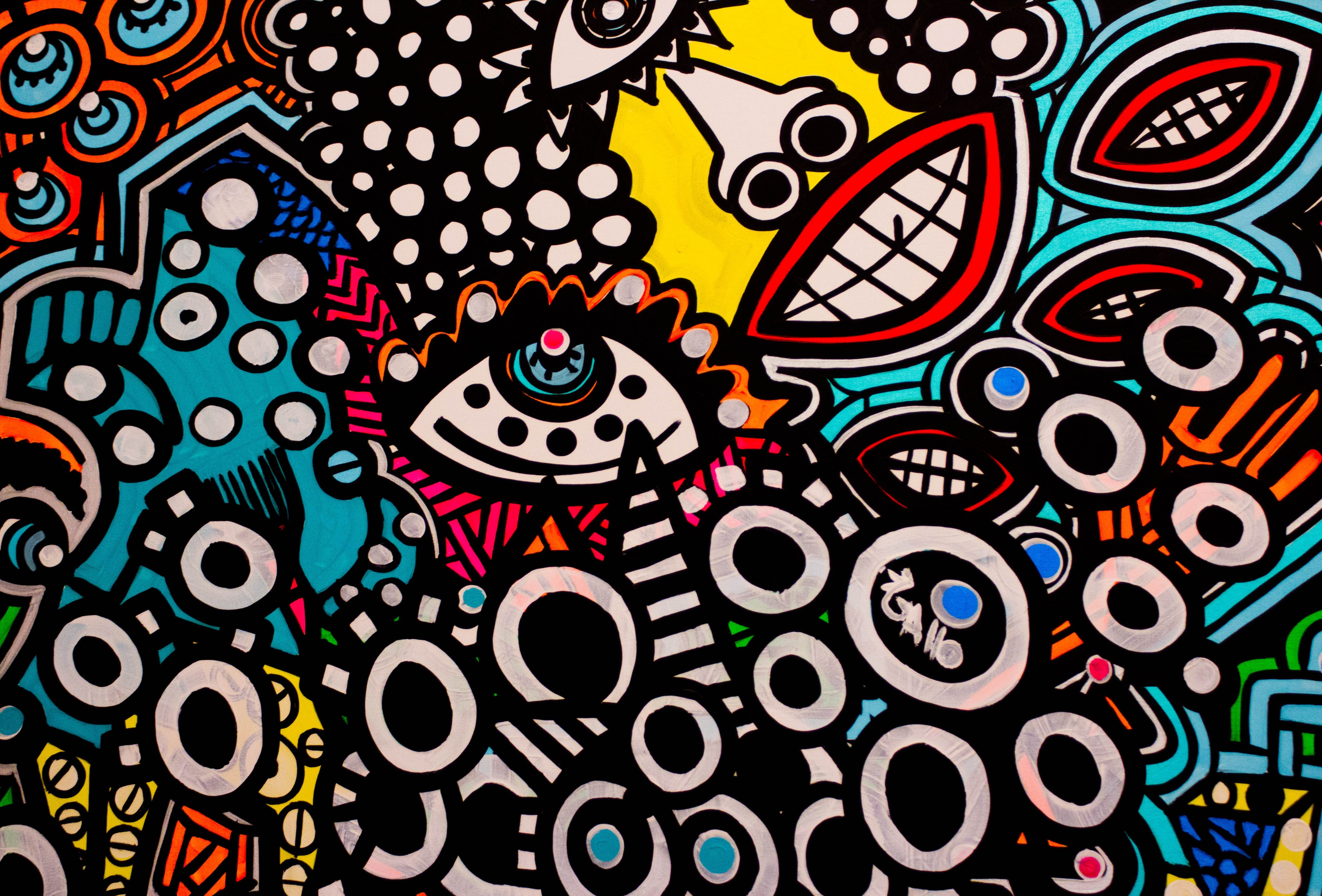 colorful street art hd wallpapers desktop and mobile