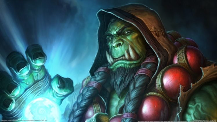 Warcraft, Hearthstone: Heroes of Warcraft, Thrall, Blizzard Entertainment HD Wallpaper Desktop Background