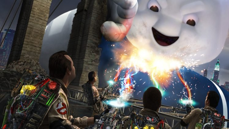 Stay Puft Marshmallow Man, Ghostbusters, Video games HD Wallpaper Desktop Background