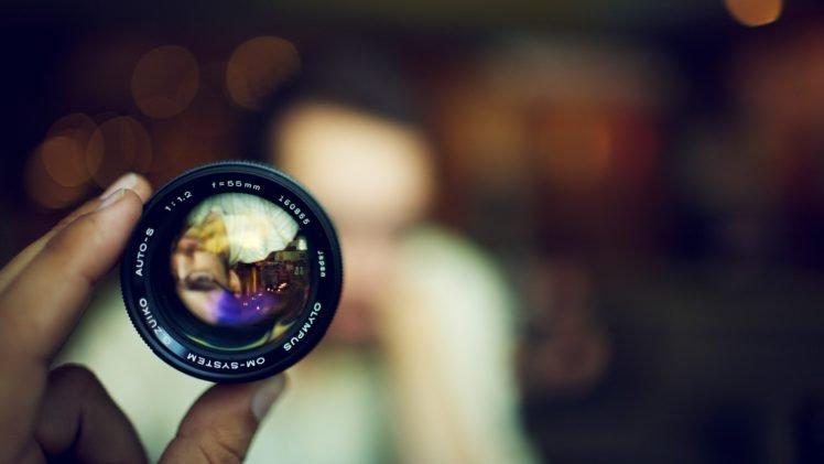 lens, Blurred HD Wallpaper Desktop Background