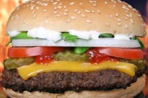 food, Closeup, Burger, Cheese