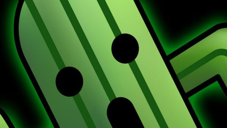 Fictional Cactuar Cactus Final Fantasy HD Wallpaper Desktop Background