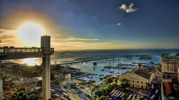 103815 Brazil sunset sea