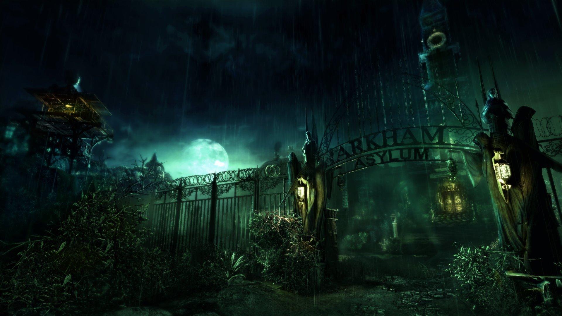 Batman Arkham Asylum Hd Wallpapers Desktop And Mobile Images