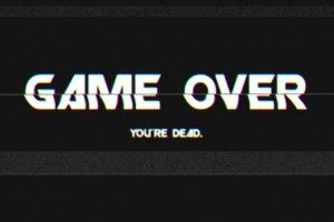 GAME OVER, Video games, Glitch art