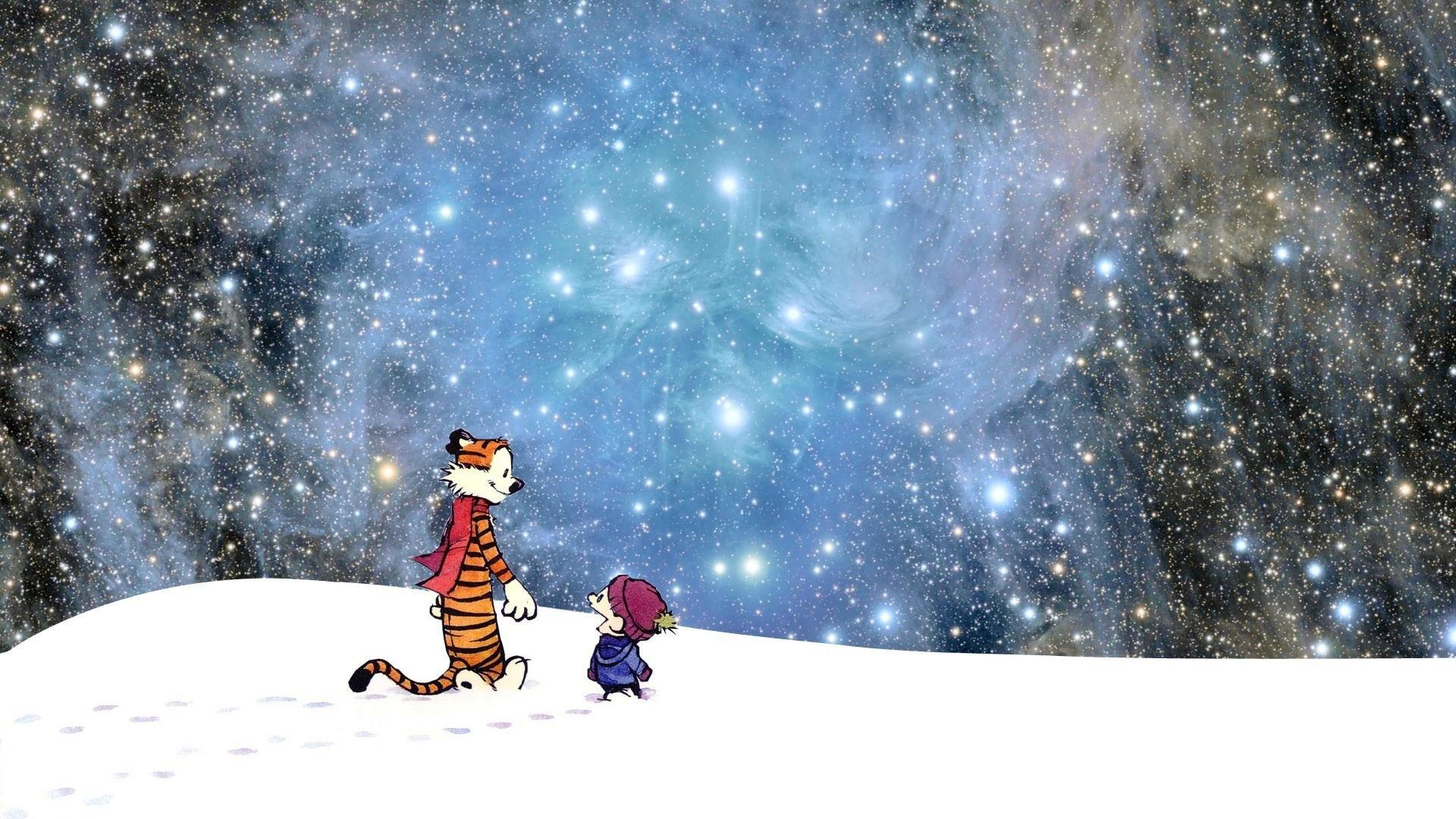 Nebula Calvin And Hobbes Hd Wallpapers Desktop And Mobile