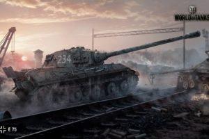 World of Tanks, Tank, E 75, Wargaming