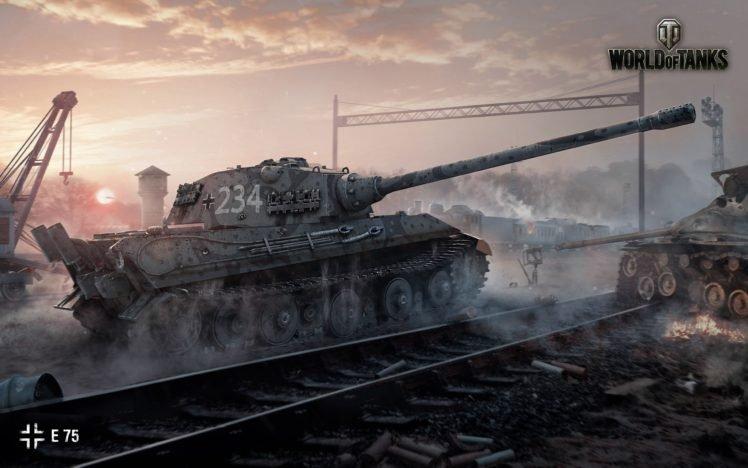 World of Tanks, Tank, E 75, Wargaming HD Wallpaper Desktop Background