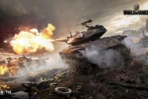 World of Tanks, Tank, T49, Wargaming, Spahpanzer Ru 251