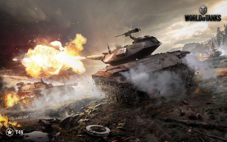 World of Tanks, Tank, T49, Wargaming, Spahpanzer Ru 251 HD Wallpaper Desktop Background