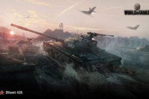 World of Tanks, Tank, Obj. 430, Объект 430, Wargaming, Airplane