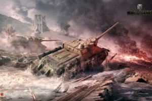 World of Tanks, Tank, SU 100, СУ 100, Wargaming