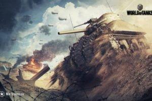 World of Tanks, Tank, M4 Sherman, Wargaming