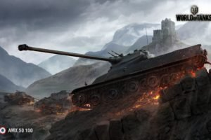 World of Tanks, Tank, AMX 50 100, Wargaming