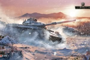 World of Tanks, Tank, STB 1, Wargaming