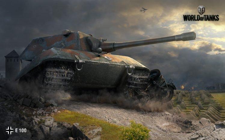 World of Tanks, Tank, E 100, Wargaming HD Wallpaper Desktop Background