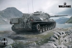 tank, World of Tanks, Leopard 1, Wargaming