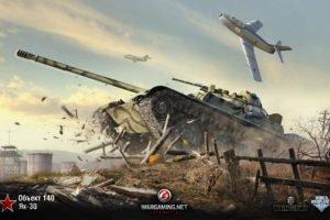 tank, World of Tanks, Obj. 140, Объект 140, Як 30, World of Warplanes, Wargaming