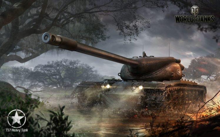 Tank World Of Tanks T57 Heavy Wargaming HD Wallpaper Desktop Background