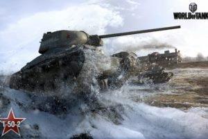 World of Tanks, Tank, T 50 2, Wargaming