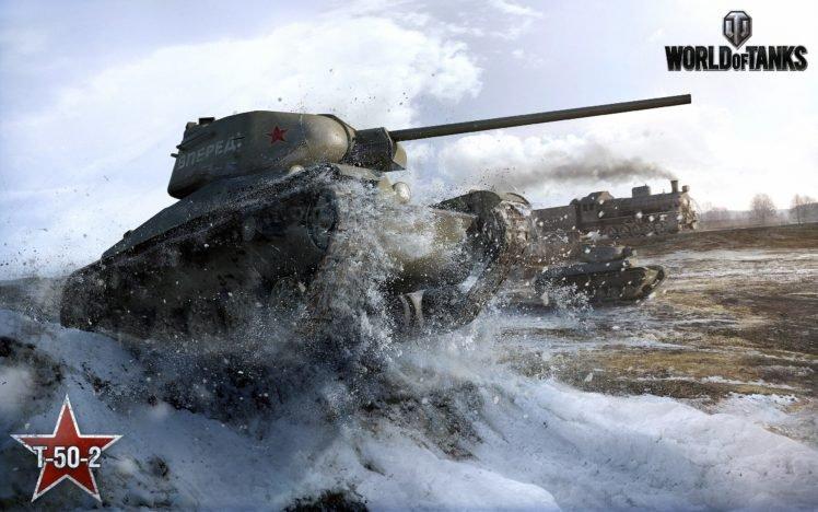 World of Tanks, Tank, T 50 2, Wargaming HD Wallpaper Desktop Background